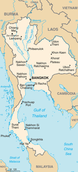Phitsanulok Thailand Map.Phitsanulok Thailand Farmers Warned About Leptospirosis Risk