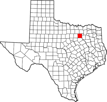 Dallas County, TX map Image/David Benbennick via Wikimedia Commons