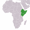 Horn of Africa map Public domain image/ Lexicon at the English Wikipedia project