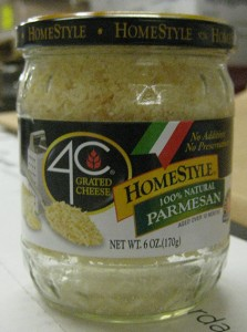 4C Grated Cheese HomeStyle Parmesan/FDA