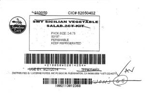 Taylor Farms recall/FDA