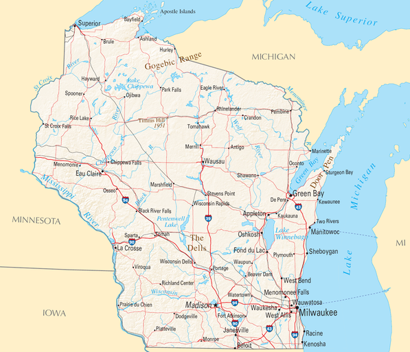 Wisconsin: 1st human St. Louis Encephalitis case reported in the ...