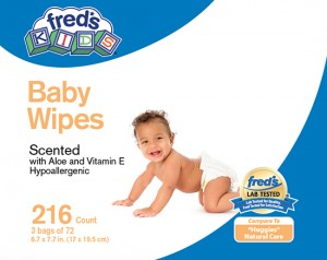 Fred's baby wipes/FDA