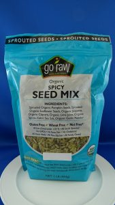 Go Raw brand Organic Spicy Seed Mix/CFIA