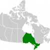 Ontario map/public domain wikimedia commons