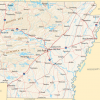 Arkansas map/ National Atlas of the United States