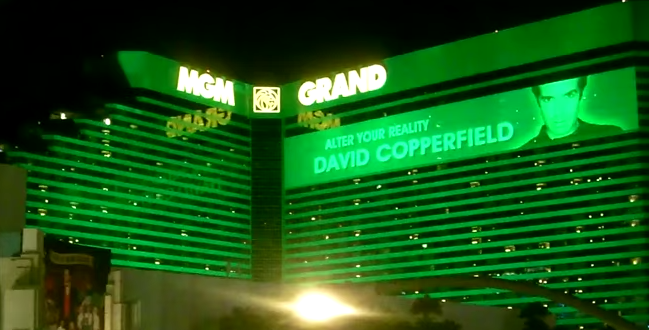 MGM Grand Hotel & Casino. Image/Video Screen Shot