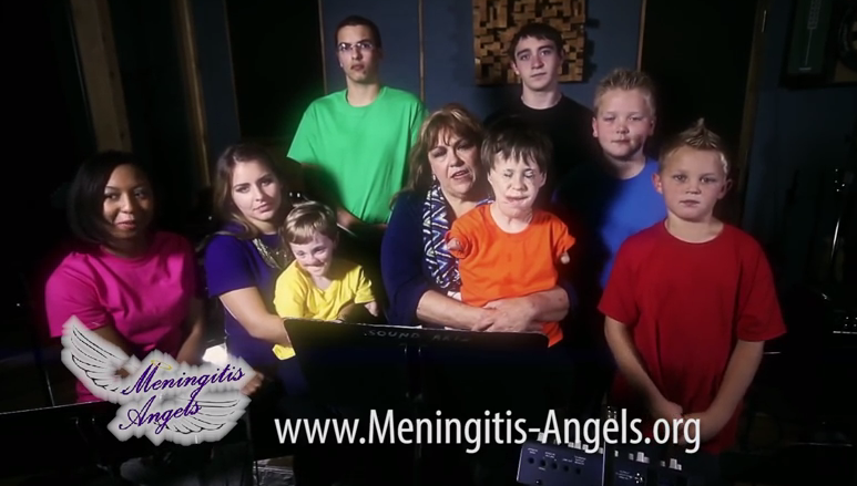 Video Screen Shot/Meningitis Angels
