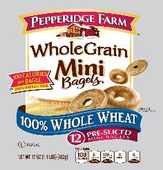 Pepperidge Farm mini-bagels/FDA