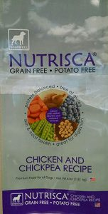 Nutrisca Chicken and Chick Pea Recipe Dry Dog Food/FDA