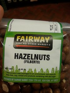 Fairway hazelnuts