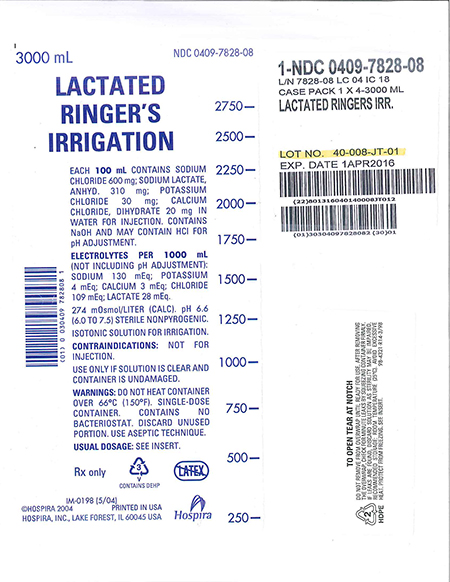 Lactated Ringer's Irrigation/FDA