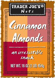 Trader Joe's Cinnamon Almonds/FDA