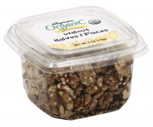 Wegmans Organic Walnut Halves & Pieces /FDA