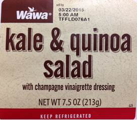 Kale and Quinoa Salad/FDA