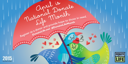 National Donate Life Month 2015/Donate Life America