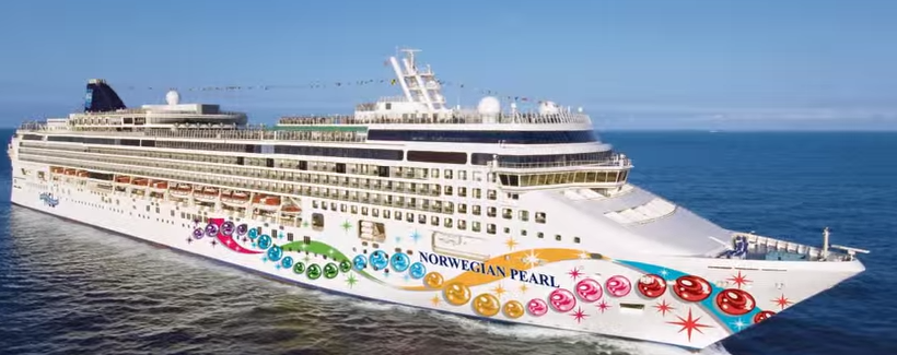Norwegian Pearl/Video Screen Shot