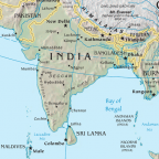 Indian subcontinent/CIA