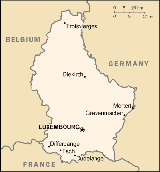 Luxembourg/CIA