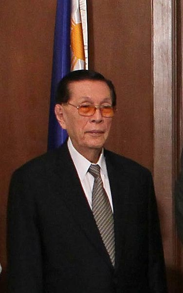 Juan Ponce Enrile/U.S. Embassy photo.
