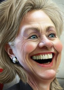 Hillary Clinton/photo/ donkey hotey  donkeyhotey.wordpress.com