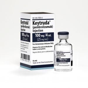 KEYTRUDA is a prescription medicine used to treat a kind of skin cancer called melanoma Copyright © 2009-2015 Merck Sharp & Dohme Corp., a subsidiary of Merck & Co., Inc., Kenilworth, N.J., U.S.A. All rights reserved. Keytruda 100mg/4mL Vial and Carton 2015