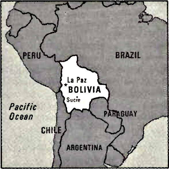 Bolivia Image/CIA World Factbook