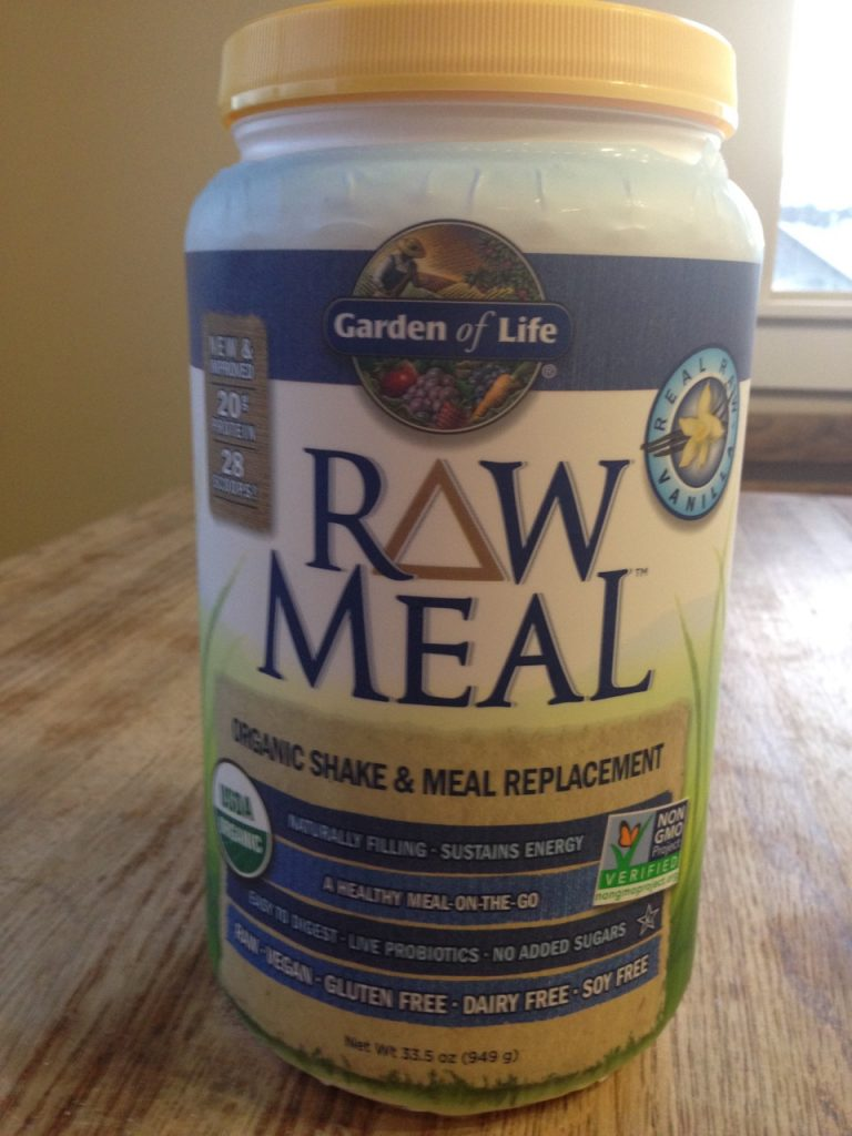 Garden of Life RAW Meal Organic Shake & Meal Product/CDC