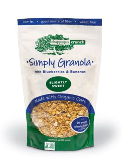 Simply Granola with Blueberries & Bananas/FDA