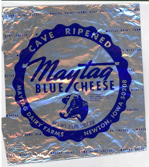 Maytag Raw Milk Blue Cheese/FDA