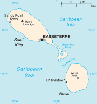 Saint Kitts and Nevis/CIA