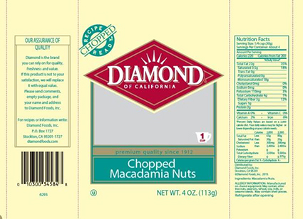 Diamond of California® Macadamia Nuts