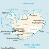 Iceland map/CIA