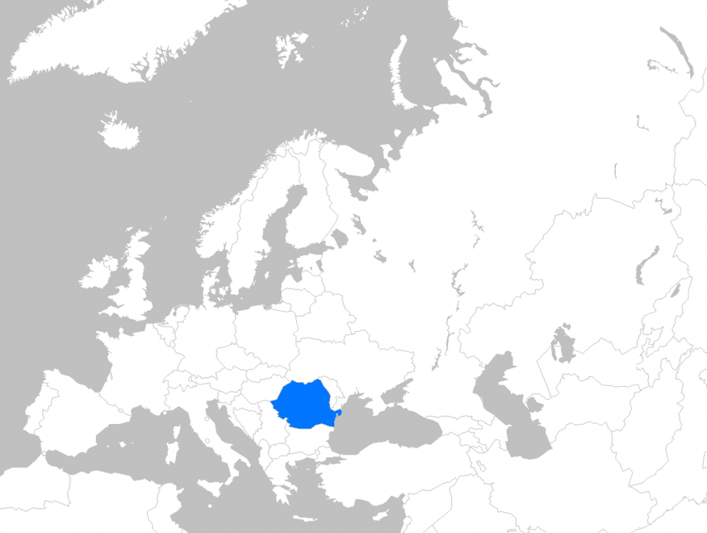 Romania image/Theeuro at English Wikipedia