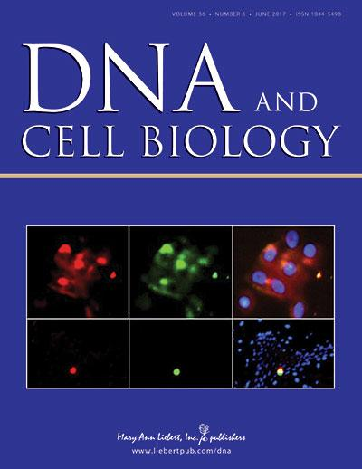DNA and Cell Biology is the trusted source for authoritative, peer-reviewed reporting on the latest research in the field of molecular biology. Image/Mary Ann Liebert, Inc., publishers