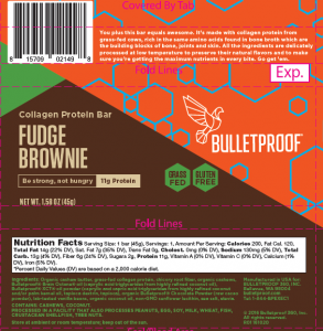 Fudge Brownie Collagen Protein Bar