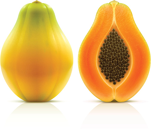 Yellow Maradol Papaya Image/CDC