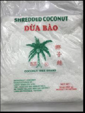 Salmonella prompts recall of frozen shredded coconut - Outbreak News Today