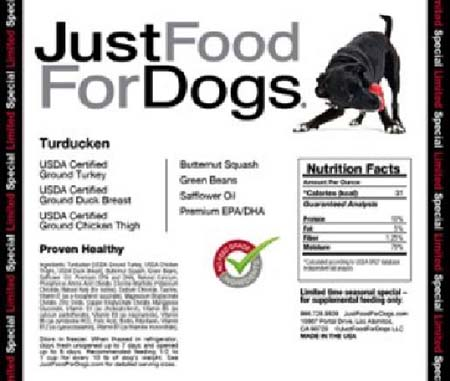 JustFood for dogs
