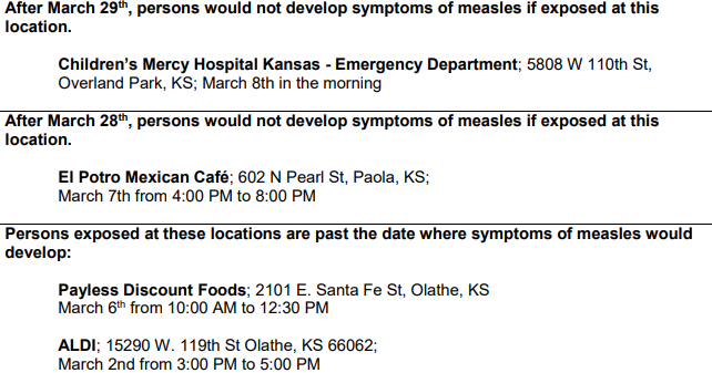 KU Hospital contacts employees, patients about possible measles exposure