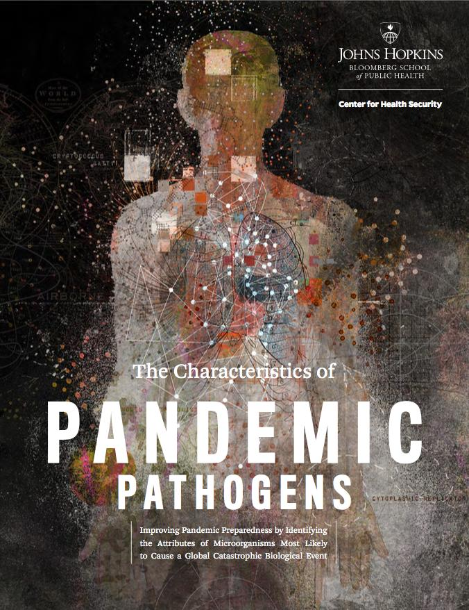 Researchers at the Johns Hopkins Center for Health Security find that a potential global catastrophic risk-level pandemic pathogen will most likely have a respiratory mode of transmission. Image/Johns Hopkins Center for Health Security