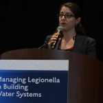 Andrea Hodgson, an Associate Program Officer at the National Academies of Sciences, Engineering, and Medicine, is working with an Academies committee that is reviewing the state of the science with respect to Legionella and evaluating strategies for controlling these bacteria in water systems.