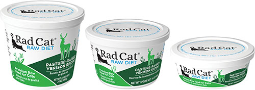 Rad Cat Raw Diet Pasture-Raised Venison Recipe