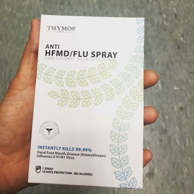 Malaysia MOH warns of Thymos anti-HFMD spray claim - Outbreak News Today