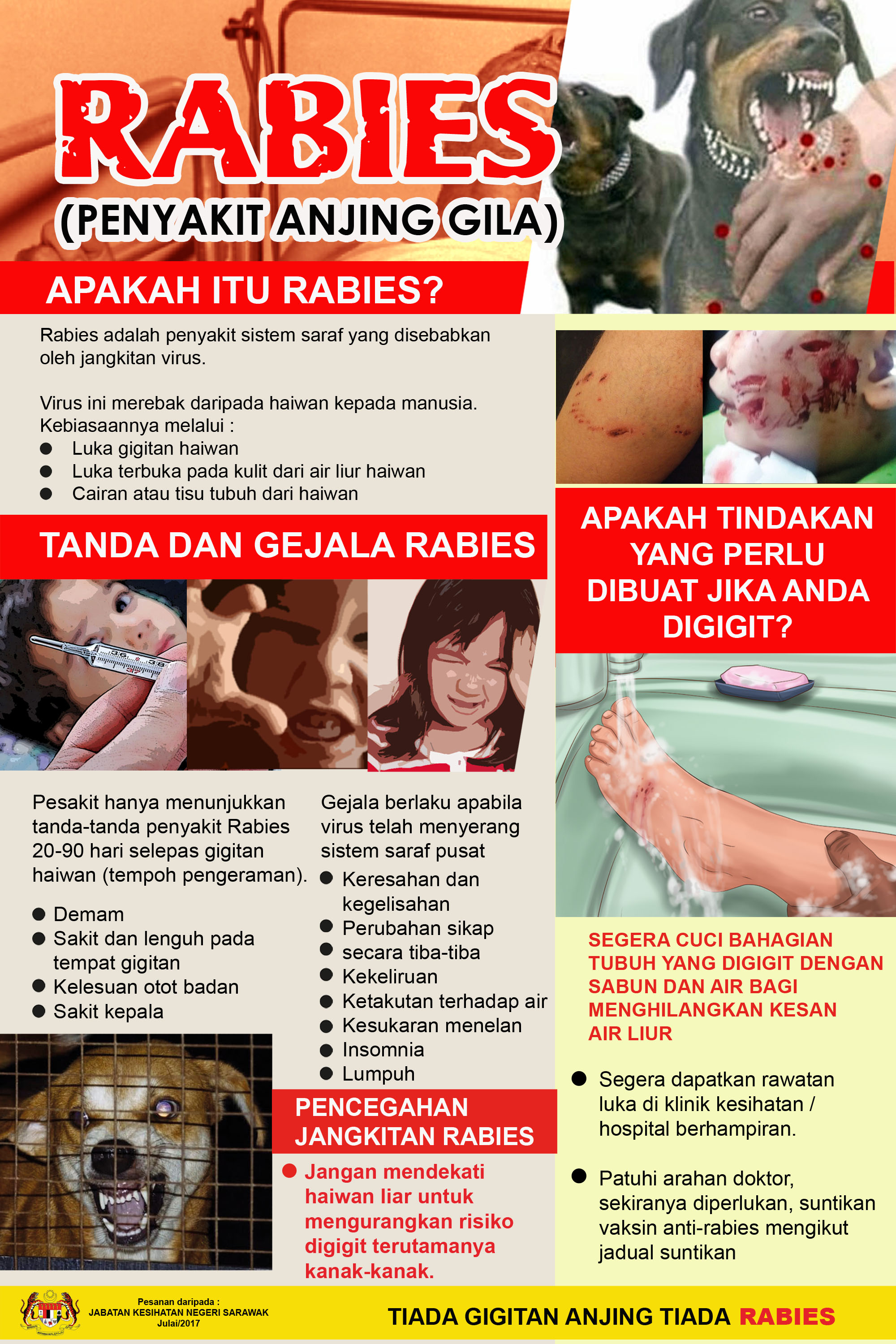 Malaysia rabies follow-up: 13th death in Sarawak - Outbreak News Today