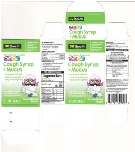 DG™/health NATURALS baby Cough Syrup + Mucus