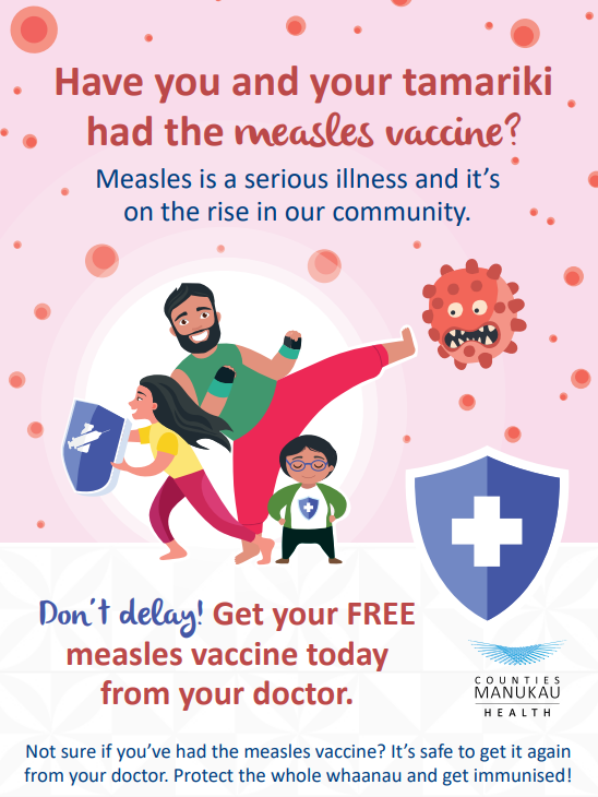 Measles outbreak in New Zealand: Cases top 1,000, Auckland