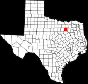 Dallas County, TX map Image/David Benbennick via Wikimedia Commons