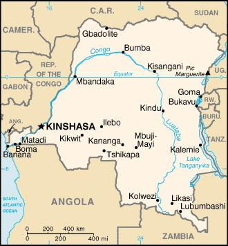 DRC map