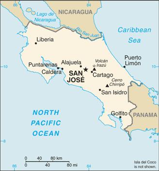 Costa Rica / CIA